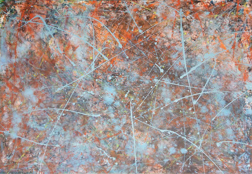 Moderne Kunst, aktuelle, zeitgenössische Malerei von Gerhard Knell